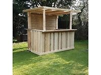 Rustic Garden Bar, pallet style bar, man cave furniture, made for you, stock available your design