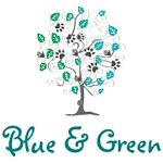 Blue and Green Planet