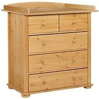 John Lewis Malmo Dresser with removable changing table