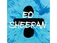 Ed Sheeran Standing Tickets Galway