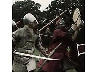 Early Medieval full contact fighting