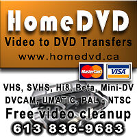 Transfer VHS and Videotapes to DVD