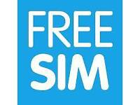 Free Sim Cards all major networks