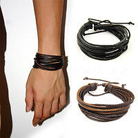 GENUINE LEATHER WHOLESALE BRACELETS NEW SALE