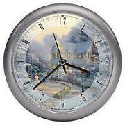 Thomas Kinkade Christmas Clock
