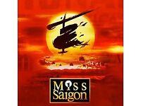 Miss Saigon Theatre Tickets Cardiff 2nd December 2017