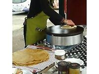 The Mobile Creperie: traditional Breton Crepes and Galettes for all occasions