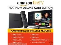 Amazon Fire TV BOX Kodi Fully Loaded✅ Sports✅ TV Shows✅ Movies✅ Mobdro✅KIDS & XXX