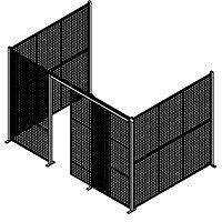 Security Enclosures, Security Partitions, Security Carts