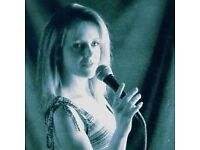 Singer available for Events