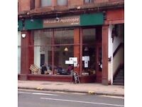 Cafe/ retail Shop to Let- Glasgow West End