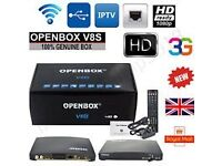 Open Box V8S TV recording system complete