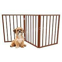 Standing Wooden Pet Gate