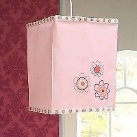 Upsy Daisy fabric lightshade
