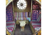 Bowtop Gypsy Wagon