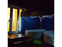 Hot Tub and Gazebo for Hire - Kilmarnock based with lowest prices