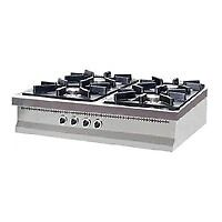 4 Burner Cooker Table Top EN32in Basford, NottinghamshireGumtree - 4 Burner Cooker top Gas ✓ Sizes 807530 ✓ Works with Natural Gas ✓ With safety valve ✓ Stainless steel body and broach ✓ Burner as stainless steel blare type burner ✓ Full or demi flame options ✓ Hygienic, safe and longevous ✓ Oven has...