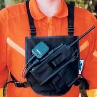 Paramedic/EMT/Firefighter Radio Chest Harness-Motorola