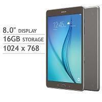"""Samsung - Galaxy Tab A - 8"""" inch - 16GB - Smoky Titanium"""