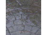 Imprinted concrete supplies diy or trade