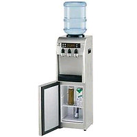 Ge hot and cold water cooler mini fridge