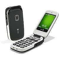 FLIP & BAR PHONES WITH BIG KEYS LIKE DORO 612,620,520, NOKIA 2720, SAMSUNG, LG, ZTE ETC.