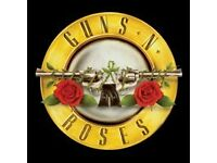 GUNS N ROSES - 2 Gold Circle Tickets - Dublin 27th May 2017