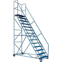 Rolling Ladders, Industrial/Commercial Step Ladders, Step Stools