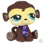 Littlest Pet Shop Plush Monkey