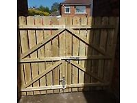 Wooden garden fencing & gates contractors Belfast. Insurance quotes and work also undertaken