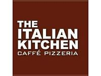 FULL TIME WAITING STAFF REQUIRED FOR BUSY MERCHANT CITY ITALIAN RESTAURANT