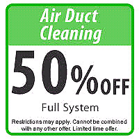 """""""Special offer for Duct Cleaning"""""""