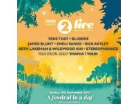 Radio 2 Festival in a Day Sunday Sept 10th