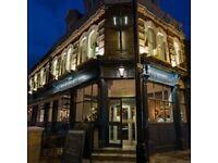 Head Chef-North London Pub-Possible Live In. Stoke Newington/Finsbury Park