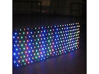 STARLIGHT DJ MULTI COLOUR LED STARCLOTH DJ LIGHTING EQUIPMENT 4FT DJ STAND