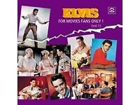 ELVIS FOR MOVIE FANS ONLY VOL. 1 (Memory Records 2015-2) CD