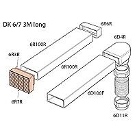 Elica DK6/7 150mm Wide 3m Long Ducting Kit - NEW