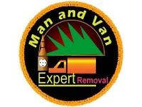 CHEAP MAN & VAN LUTON VAN HIRE 2-3 MEN HOUSE OFFICE REMOVALS DUMPING WASTE JUNK CLEARANCE DISPOSAL