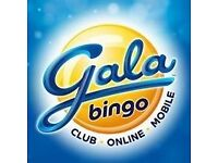 Party Packages available at Gala Bingo Meadowbank