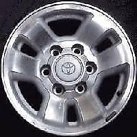 "16"" TOYOTA 4RUNNER/ TACOMA ""6 BOLT"" WINTER PACKAGE FACTORY WHEEL"