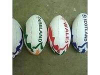 Rugby Balls Training Coaching match quality rrp £20 plus Bargain post anywhere in UK