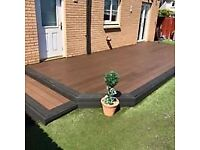 Low maintenance and Slip Resistant Composite Decking - £10.50 per 2.2m board
