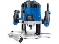 *New* Draper variable speed router 1200W 230V