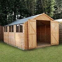 WANTED LARGE SHED OR WOODEN GARAGE CHEAP OR FREE