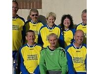 50 Plus Football Players needed for Torbay United Fc