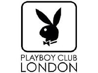 London's iconic Playboy Club in Mayfair requires Waiters and Waitresses with passion and experience!