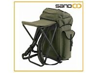 HI-GEAR ALL IN ONE RUCKSACK/SEAT (ARMY GREEN)