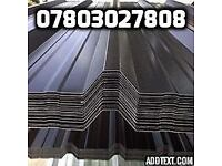 50 new box profile roof sheets 10ft