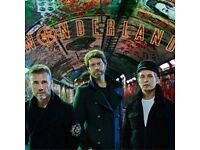 TAKE THAT STANDING TICKETS 6 AVAILABLE OR SOLD IN PAIRS **BIRMINGHAM SUNDAY 4TH JUNE**