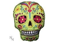 *Nemesis Now* Candy Skull Cushion